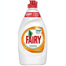 3 x FAIRY 450mls W/UP LIQUID ORANGE & LEMON - CHEAPER THAN AMAZON