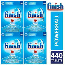 440 FINISH POWERBALL CLASSIC DISH WASHER TABS..