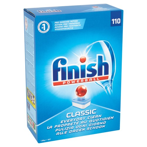 110 FINISH POWERBALL CLASSIC DISH WASHER TABS