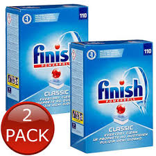 220 FINISH POWERBALL CLASSIC DISH WASHER TABS..