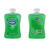 MEDEX ANTIBACTERIAL HANDWASH - ALOE VERA 650MLS (4 X BOTTLES)  OVER 2.5 LTRS OF ANTI BAC HAND WASH