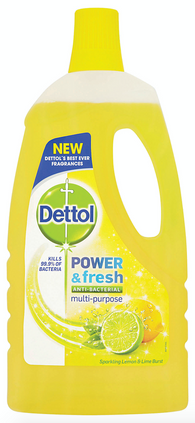 1L Dettol Lemon and Lime Antibacterial Power Fresh