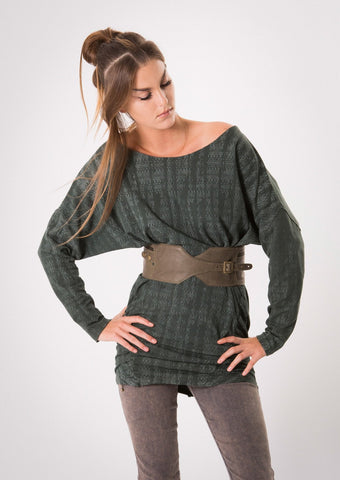 Digital Aya tunic