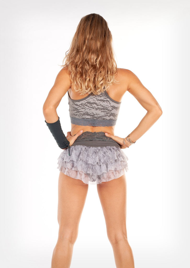 Frilly bum shorts