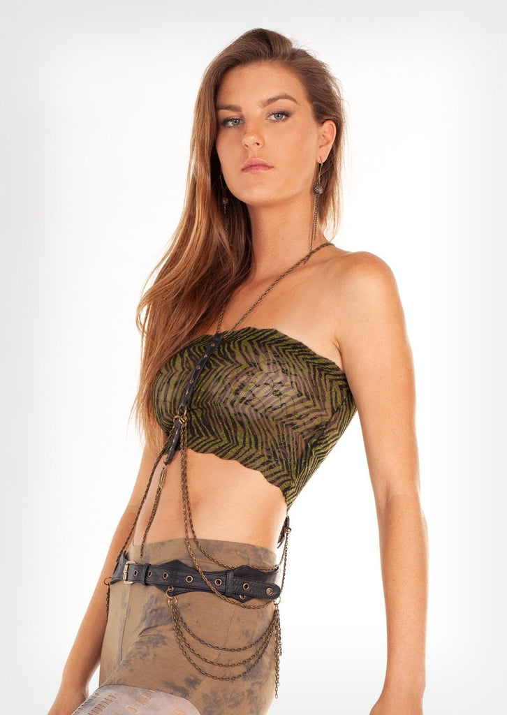 Jungle crop top