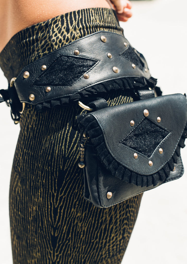 Punk priestess pocket belt