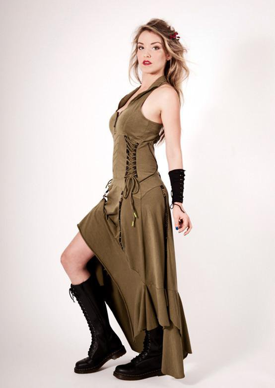 Steam Goth Dress