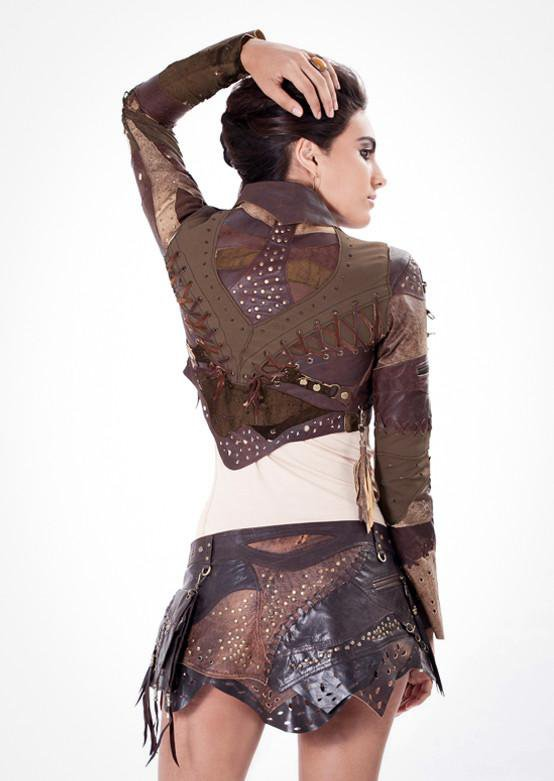 Vixen Leather Bolero