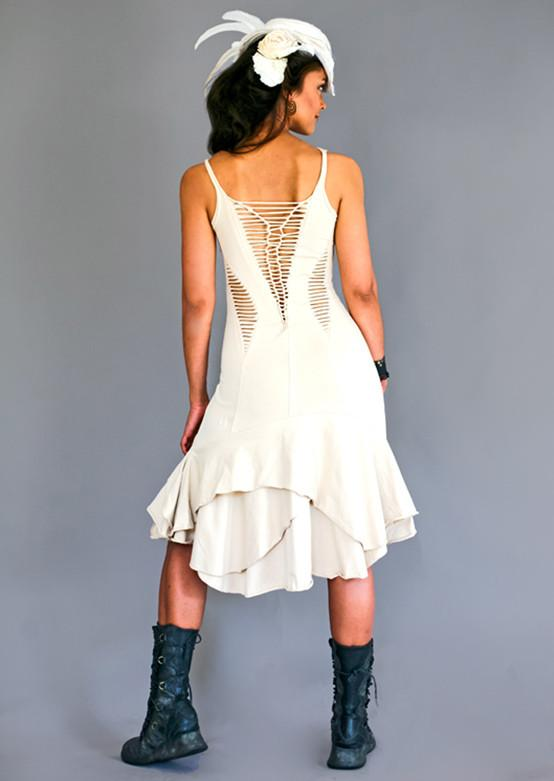 Feather Scar Dress