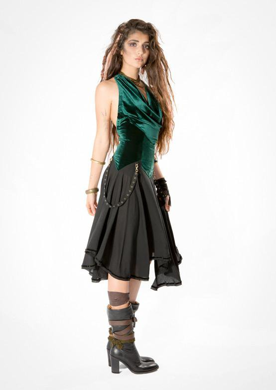 Thunder Huntress Dress - Velvet