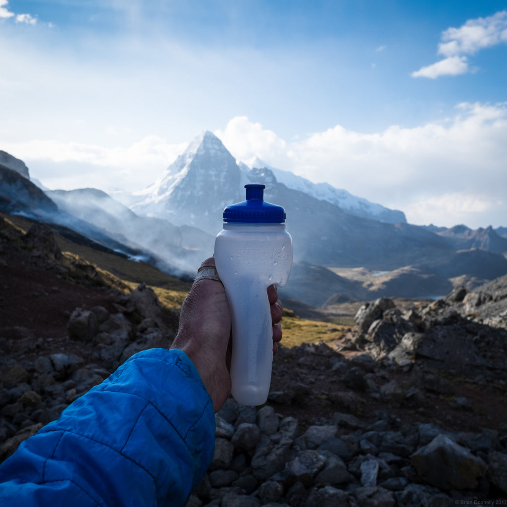 #skoutfind: Skout Backcountry Ambassador Brian Donnelly Simple Hydration Water Bottle