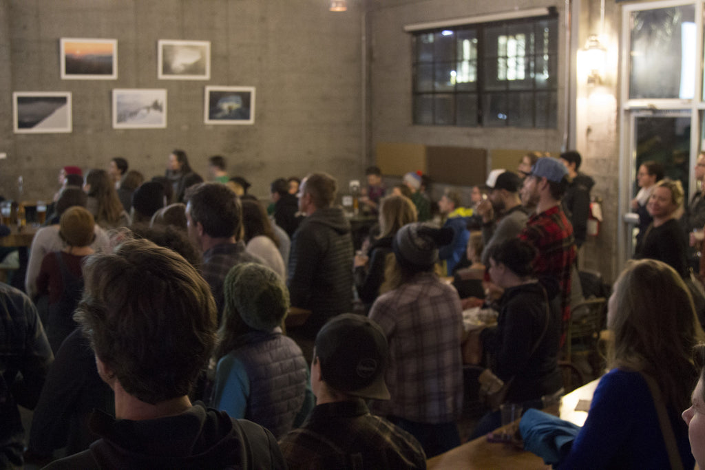 Skout Backcountry #skoutoutside Speaker Series Part 1: Crowd