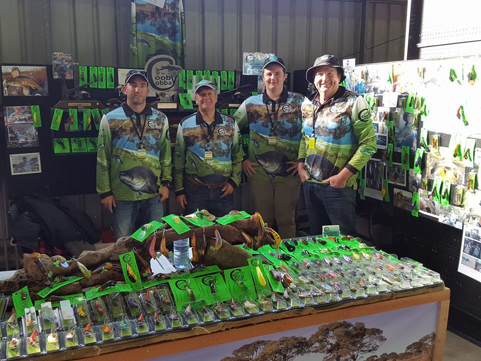 Cooby Cobba Lures at the Australian Lure & Fly Expo