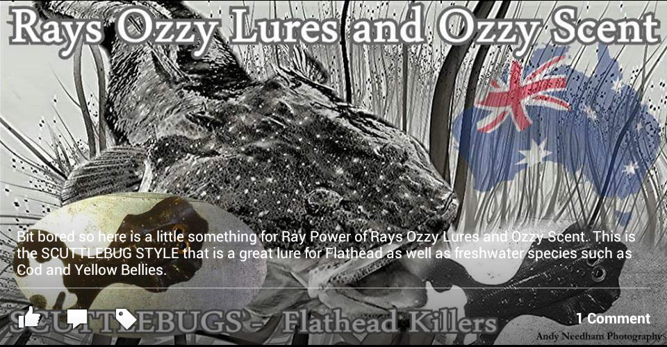 Rays Ozzy Lures Flat Head Crossfire
