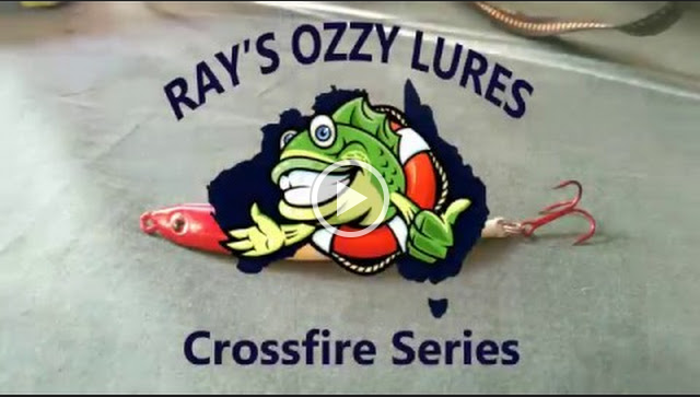 Rays Ozzy Lures Crossfire Strength test