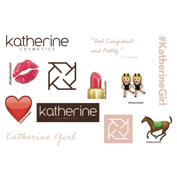 Katherine Girl Stickers