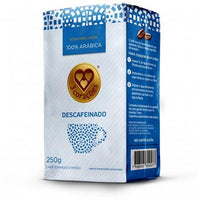 3 Coracoes Cafe Descafeinado 250g - Decaf  Graud Coffee 8.82 oz