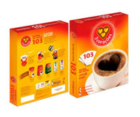 3 Coracoes Paper Filter for Coffee size 103 - Filtro de Papel para Cafe tamanho 103