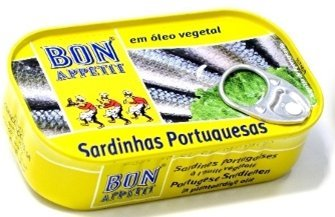 Bon Appetit Sardine in vegetable oil 4.23oz - Sardinhas em Oleo Vegetal 84g/120g
