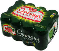 Antarctica Brazilian Guarana Soda 11.83 fl. oz (12 pack) - Guarana lata 350ml (12 unidades)