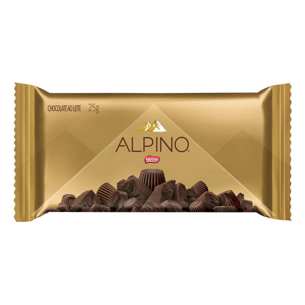Nestle ALPINO Chocolate bar - Barra de Chocolate Und/Box