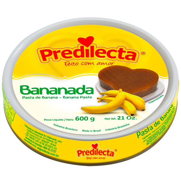 Predilecta Banana Paste 21Oz - Bananada 600g