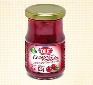 Ole Cherries in Syrup - Cerejas em Caldas 225g