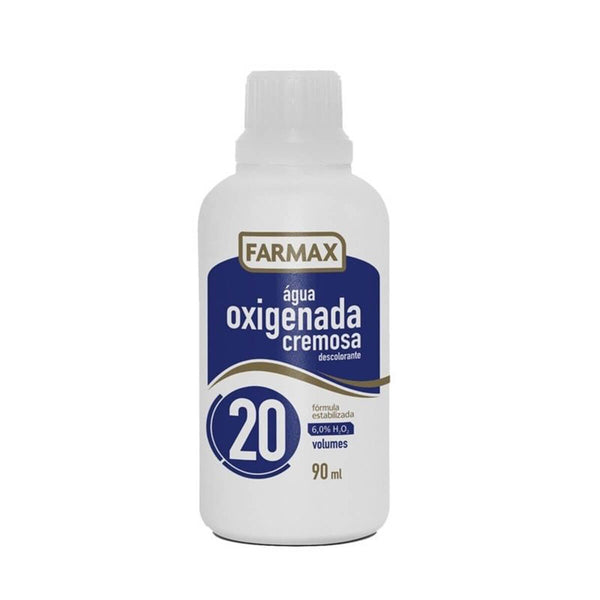 Farmax Oxygenated Water 90ml - Farmax Agua oxigenada Cremosa 90ml