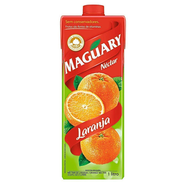 Maguary Orange Juice 33.8 fl.oz - Suco de Laranja 1L