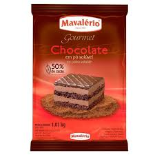 Mavalerio Chocolate em po 1kg- Chocolate Powder
