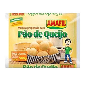 Amafil Prepared Mixture for Cheese Bread 17.6oz - Mistura para Pao de Queijo 500g