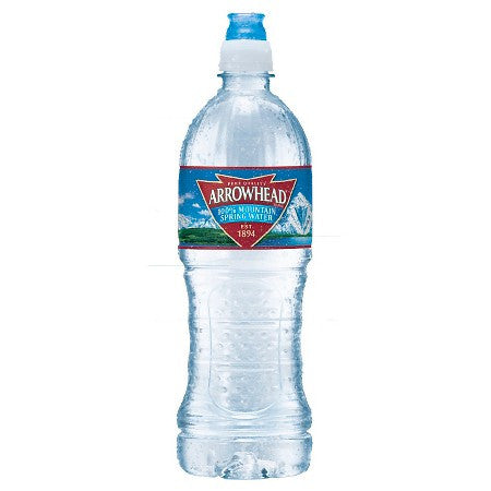Arrowhead Spring Water 23.7 fl. oz. - Água Mineral 700ml
