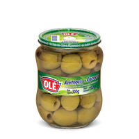 Ole Pitted Green Olives 5.2 oz- Azeitonas sem Caroco 300g