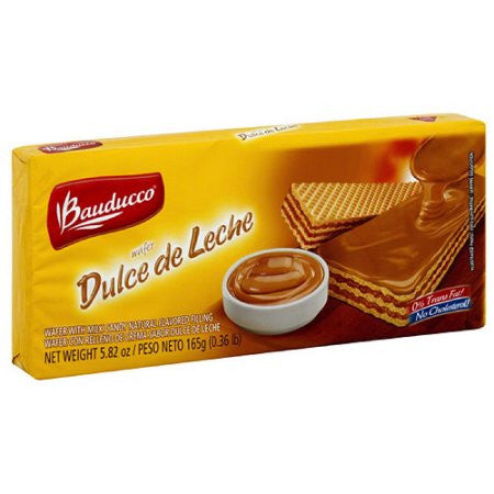 Bauducco Wafer Selects Dulce de Leche 5.82oz - Wafer Doce de Leite 165g