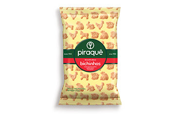 Piraque Sweet Animal Cookies  - Biscoito Doce Bichinhos 100g