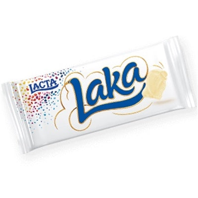 Lacta Laka White Chocolate Bar 90g - Laka branco 90g