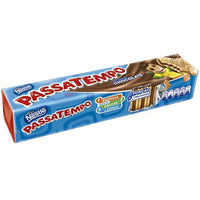 Nestle Passatempo Chocolate Cream Sandwich Biscuit 4.93oz - Biscoito recheado sabor chocolate 140g