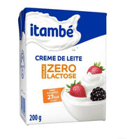 Itambe Table Cream - Creme de Leite  ZERO LACTOSE 200g