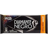 Lacta Diamante Negro Chocolate Bar 90g - Barra Diamante Negro 90gr