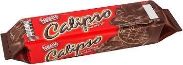 Nestle Calipso Biscoito coberto com chocolate ao leite 130g - Cookie covered w/ milk chocolate