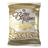 Arcor Butter Toffees White Chocolate - Bala Trufada Chocolate Branco Bag 100g