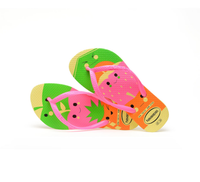 Havaianas Kids Slim Fun Sandal Pollen Yellow