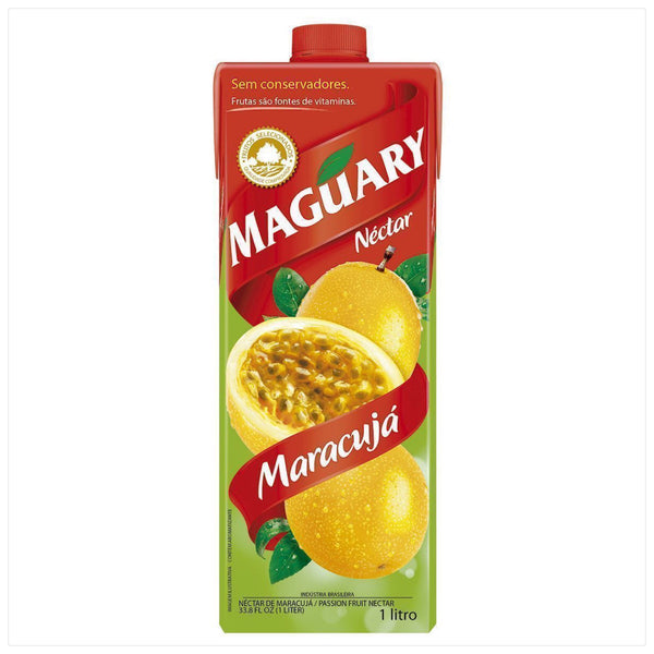 Maguary Passion Fruit Juice 33.8 fl.oz - Suco de Maracuja 1L