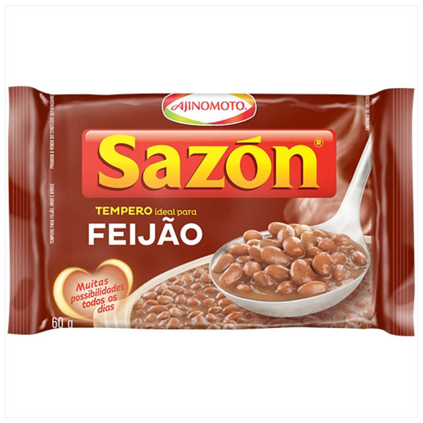 Sazon Seasoning for Beans 2.11oz - Tempero para Feijao 60g