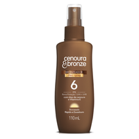 Cenoura & Bronze Tanning Oil Spray  - Bronzedor Oleo Spray FPS6 110ml
