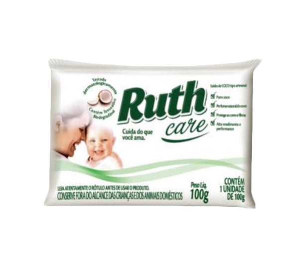 Ruth Coconut Fabric Soap 100g - Sabao de Coco100g