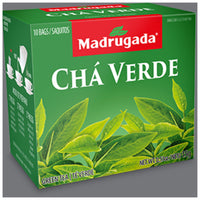 Madrugada Green Tea 0.53oz 10 bags - Cha Verde 15g
