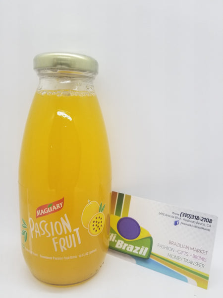 Maguary - Passion Fruit Juice 10fl OZ - Suco de Maracuja 300ml