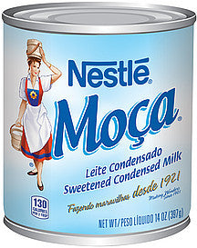 Nestle Moça Sweetened Condensed Milk 14oz - Leite Condensado 397g