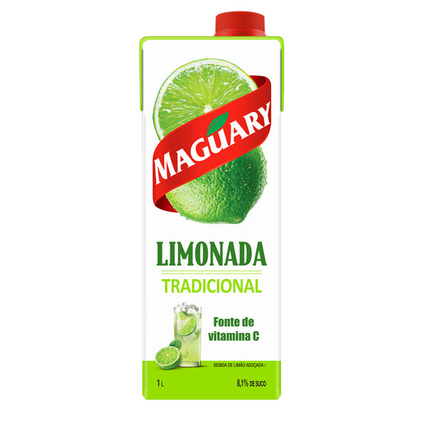 Maguary Sweetened lime Drink 33.8 fl.oz - Limonada Tradicional 1L